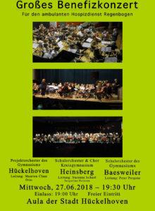 Großes Benefizkonzert für den Hospizdienst Regenbogen @ Aula des Gymnasiums Hückelhoven | Hückelhoven | Nordrhein-Westfalen | Deutschland