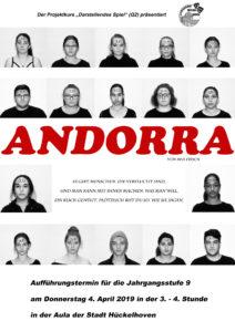 Andorra @ Aula des Gymnasiums der Stadt Hückelhoven | Hückelhoven | Nordrhein-Westfalen | Deutschland
