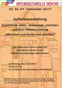Auftaktveranstaltung zur Interkulturellen Woche @ C-Gebäude | Hückelhoven | Nordrhein-Westfalen | Deutschland
