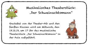 """""""Der Schweinachtsmann"""" @ Aula"""